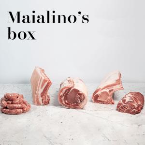 Maialino's box, una selezione di carni di maiale di alta qualità