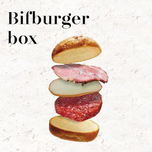 Bifburger box, Il box supergoloso firmato Bifburger | Luciano Bifulco