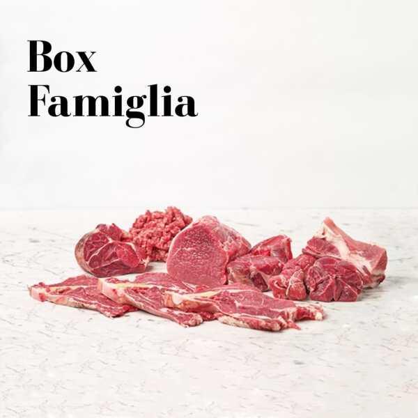 Box famiglia: 5kg dei migliori tagli di carne selezione Bifulco