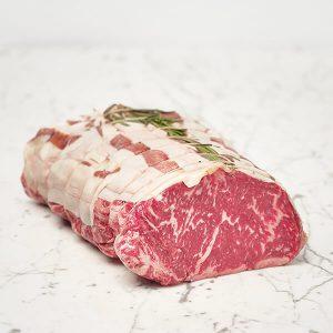Roast Beef di Angus pronto per essere infornato | Luciano Bifulco