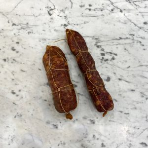 Salame di maialino nero casertano di nostra produzione | Luciano Bifulco